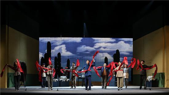 献礼新中国成立70周年:国家大剧院制作老舍话剧《西望长安》
