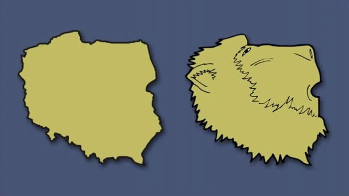 1分钟巧记欧洲各国版图形状 想记不住都难!