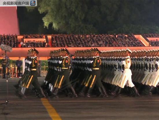 国庆70周年庆贺举动第两次结合练习训练美满完毕